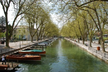 Printemps sur le Canal du Vass