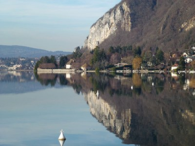 26 dcembre au lac d'Annecy