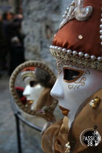 Détail de masque vénitien