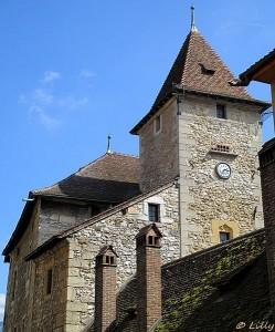 Les toits du palais