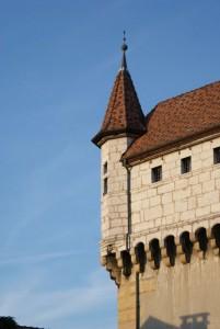 Angle du chateau d'Annecy