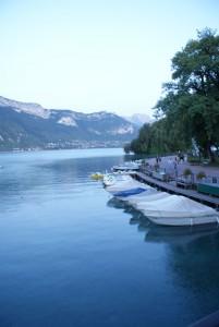 montagne et lac d'Annecy