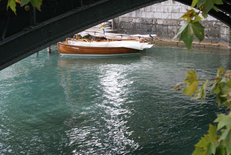 barque depuis le Paquier