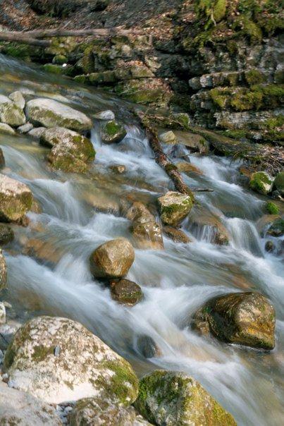 eau dans torrent