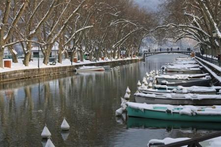 Canal du Vassé en hiver