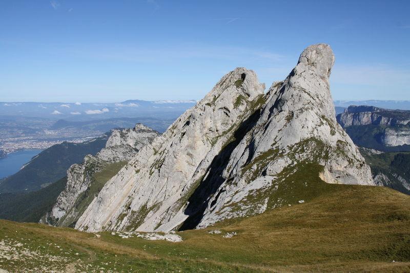 montagnes d'annecy
