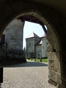 entrée chateau