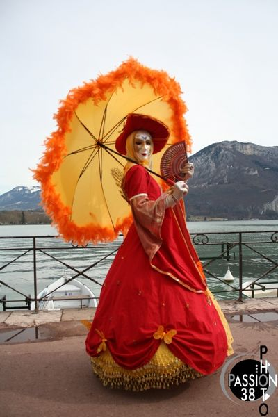 costume au lac d'Annecy