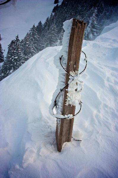 hiver et neige au semnoz