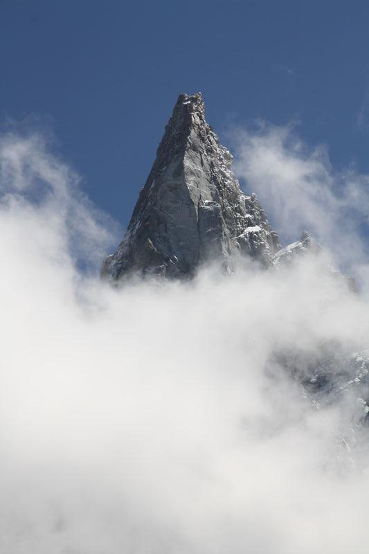 chamonix, montagne pointue