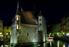 Annecy, le thiou et les vieilles prisons