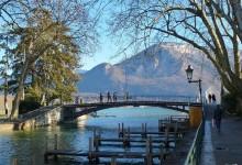 belle lumière sur le pont des amours
