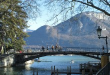 Annecy matinée hiver