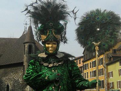 masque à Annecy