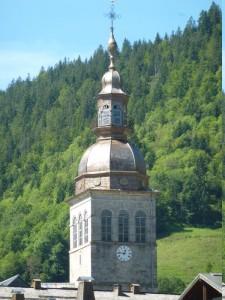 clocher du Grand Bornand