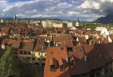 Annecy depuis le chateau